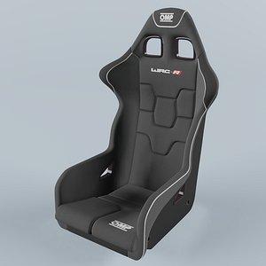 OMP WRC-R  Racing Seat Carbon 3D model
