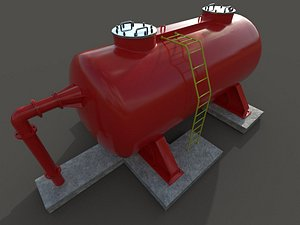 oil tank 3D