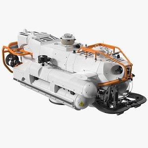 Submarine Rescue Vehicle 3D model