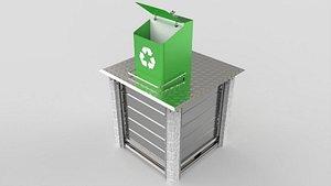 3D sheet metal underground waste