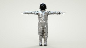 Spacesuit Astronaut Rig Character - Astronauta model