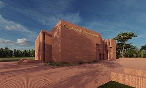 Cultural Center 3D