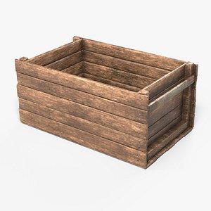 medieval crate 3D model