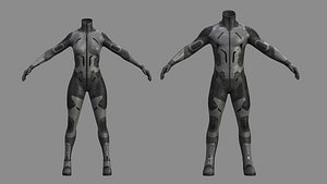 ratnik r50 body male 3D model