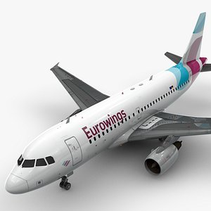 3D AirbusA319-100EUROWINGSL1419