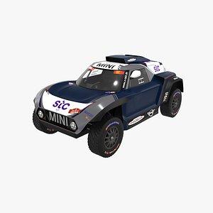 mini jcw buggy 3D model
