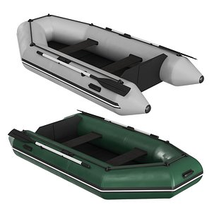 3D inflatable boat