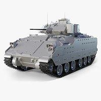 M2A2 Bradley High-Poly