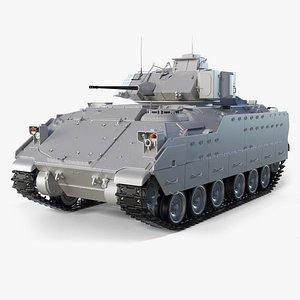 infantry vehicle m2a2 bradley 3D model