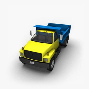 3D 90s Truck Dump MT