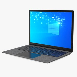 Microsoft Surface Laptop 4 13 Inch Matte Black 3D model