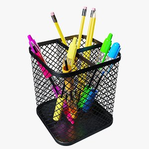 Pencil  Pen Holder 3D model
