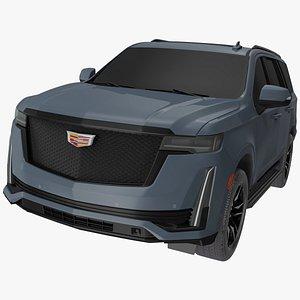 Cadillac Escalade 2021 Exterior Only 3D