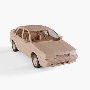 3D 1990 Fiat Tempra