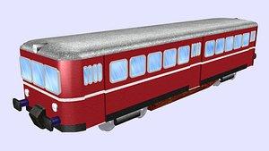 3D low-poly eta150 battery train