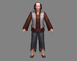 guys character man 3D model
