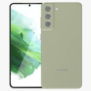 3D model Samsung Galaxy S21 FE Green