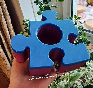 puzzle pot 3D model