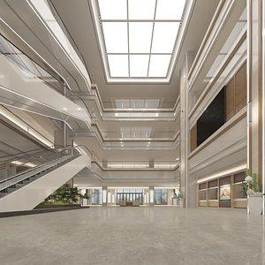 Full Hall Pavilion 3D model