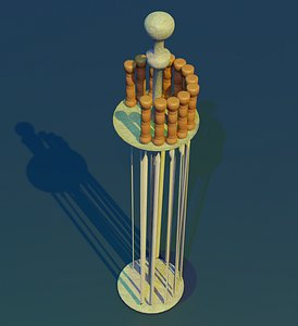 skewers 3D model