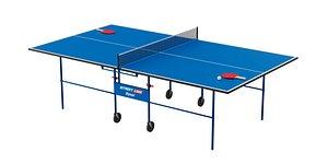 Ping Pong Table BLENDER 3D Model Cycles model
