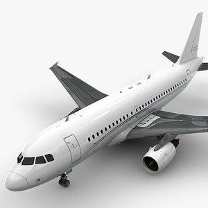 AirbusA319-100Alpha StarL1408 model