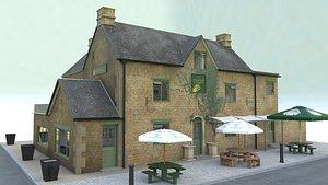 restaurant pub 3D model