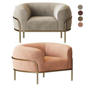 sophie armchair 3D model