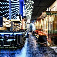 Luxury Bar and Cafe Design