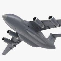 Large Military Transport Aircraft Flight