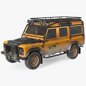 Land Rover Defender Works V8 Trophy Dirty model