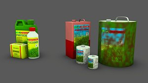 3D Insecticides and Pesticides model