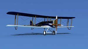 Airco DH-4 V03 US Air Mail 3D model