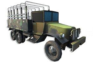 3D truck - modeled