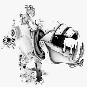 dragon robot bot model