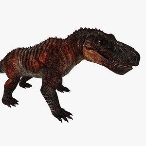 cretaceous dinosaur 3D model