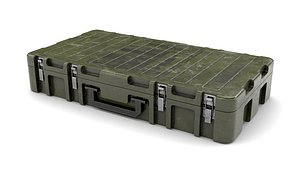 weapon case military 3D model