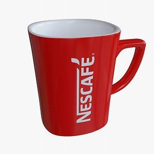 3D Nescafe Cup model