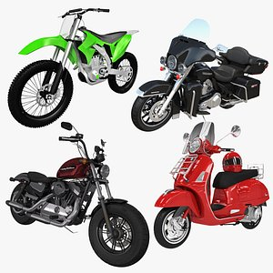 Motorcycles Collection 3D