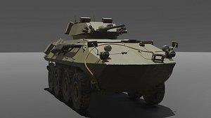 lav-25 combat 3D model