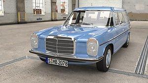 1970 Mercedes Benz W115 220 D Kombi Binz 3D model