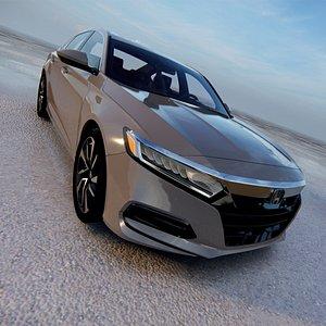 3D 2020 Honda Accord Hybrid LX