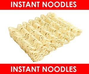 Model Instant Noodles 3D model
