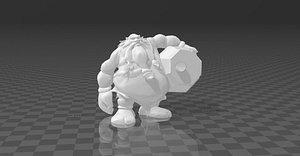 gragas 3D model