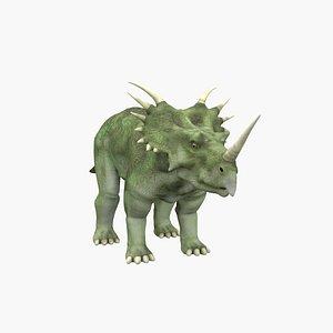 3D Styracosaurus