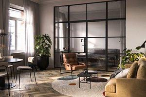3D model Photorealistic Modern Apartment Interior