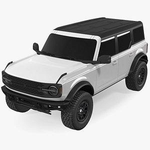 Four Door 4X4 SUV Exterior Only 3D model