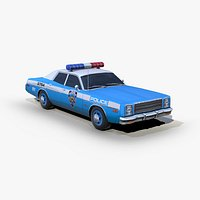 Plymouth Fury 1978 Police