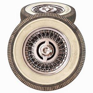 3D Chrysler wheel model