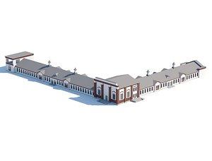 Public city building model